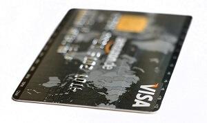 VISA kort att betala med på casino